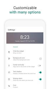 Digital Clock Widget 3