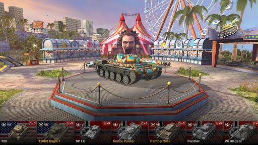 Code Triche World of Tanks Blitz 3D online  PVP jeu de tank APK MOD (Astuce) 1