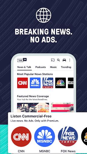 TuneIn Radio: News, Sports & AM FM Music Stations screenshots 5