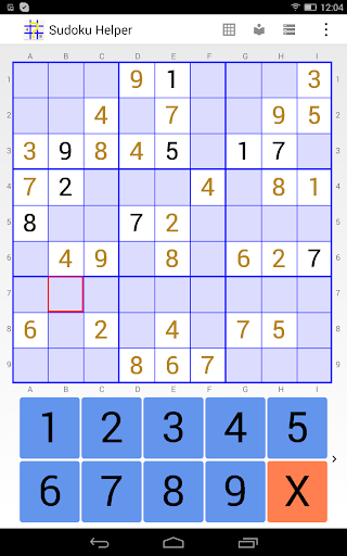 sudoku helper free edition screenshot 2