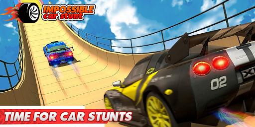 Impossible Car Stunts 3D - Car Stunt Races  screenshots 3
