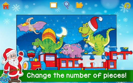 Christmas Puzzle Games - Kids Jigsaw Puzzles ud83cudf85  screenshots 2