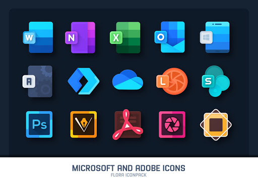 Flora : Material Icon Pack