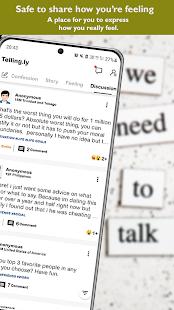 Anonymous Social Secret Confessions & Chats