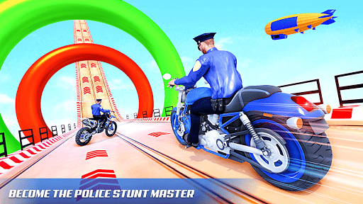 Police Bike Stunt Games: Mega Ramp Stunts Game 1.1.0 screenshots 5