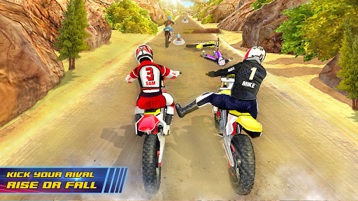Motocross Dirt Bike Stunt Racing Offroad Bike Game apktram screenshots 9