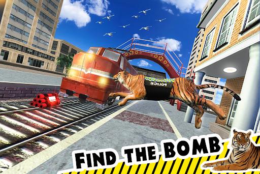 Police Tiger Chase Simulator: City Crime Apkfinish screenshots 7