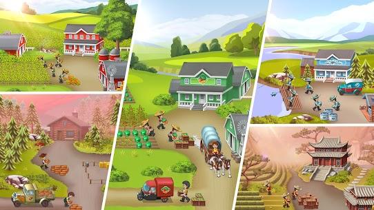 Idle Farming Tycoon  Build Farm Empire Apk Download 2021 4