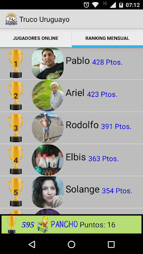 Truco Uruguayo ud83cudfc6 5.2 screenshots 5