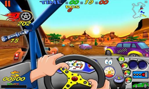 Cartoon Racing apktram screenshots 4