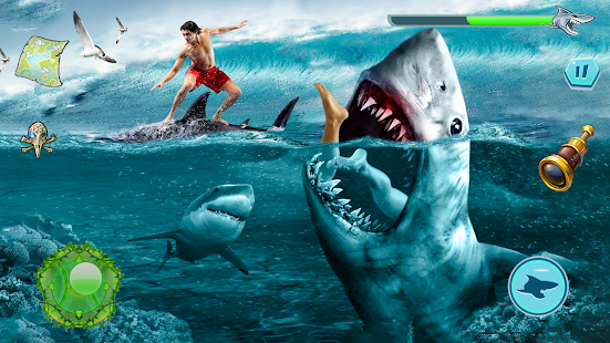Angry Shark Attack - Wild Shark Game 1.0.14 screenshots 5