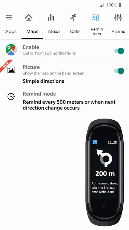 Notify for Mi Band: Your privacy first poster 3