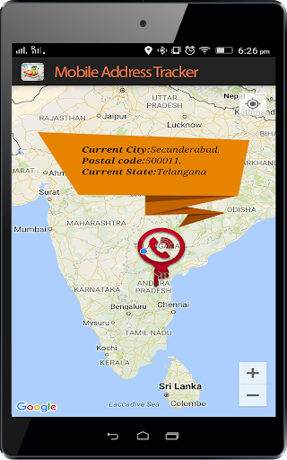 Live Mobile address tracker 1.9.45 screenshots 8