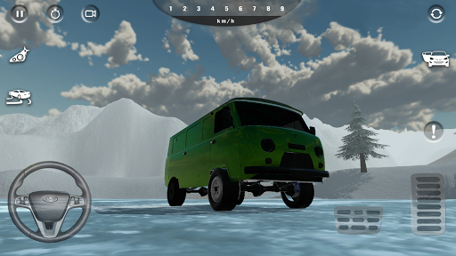 Russian Car Simulator 2.0.1 screenshots 3
