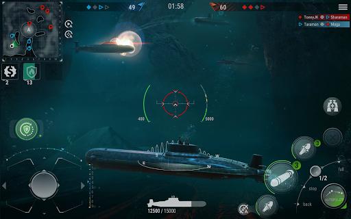 WORLD of SUBMARINES: Navy Warships Battle Wargame Apkfinish screenshots 17