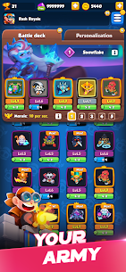 Free Rush Royale – Tower Defense game TD Mod OBB Data Download 3