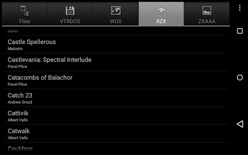 USP - ZX Spectrum Emulator screenshots 9