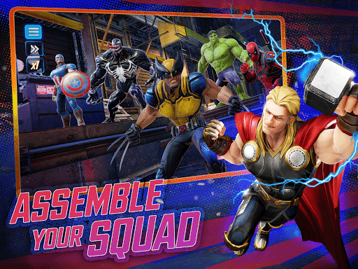 MARVEL Strike Force - Squad RPG 4.5.0 screenshots 7