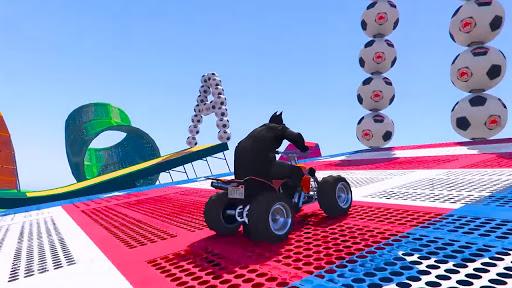 ATV Quads Superheroes Stunts Racing screenshots 14