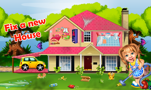 Sweet Baby Girl Cleaning Games 2021: House Cleanup screenshots 8