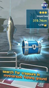 Real Fishing – Ace Fishing Hook game MOD APK 1.1.1 (Unlimited Hook) 6