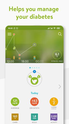 mySugr - Diabetes App & Blood Sugar Tracker apktram screenshots 1