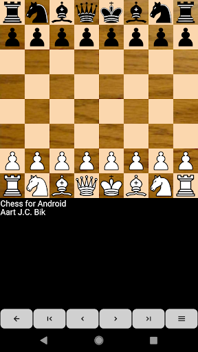Chess for Android  screenshots 1