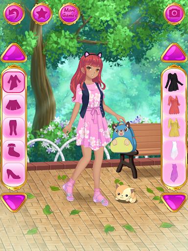 Anime Dress Up - Games For Girls 1.1.9 Screenshots 11