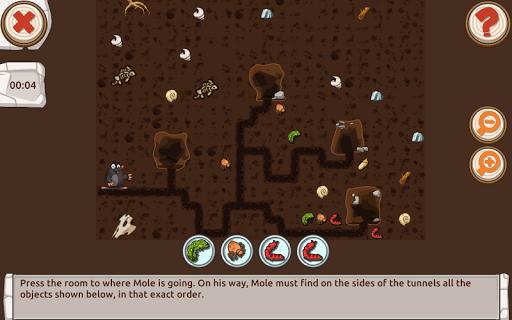 Mole's Adventure - Story with Logic Games Free 2.1.0 screenshots 12