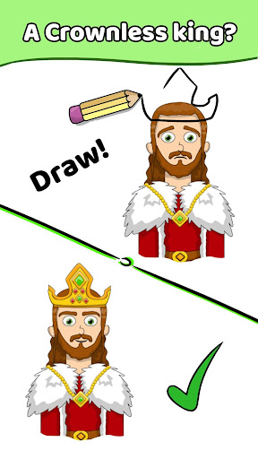 Draw a Line: Tricky Brain Test modavailable screenshots 2