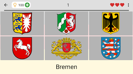German States - Flags, Capitals and Map of Germany screenshots 7