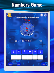 Unscramble Words and Numbers Game
