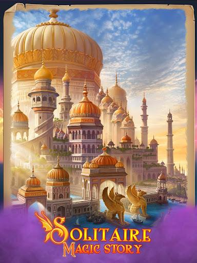 Solitaire Magic Story Best Offline Cards Stories Apkfinish screenshots 11