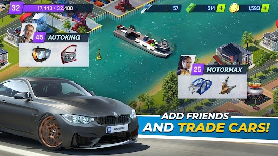 "Download Overdrive City – Car Tycoon Game attractive management game ""City of Cars"" Android! 4"