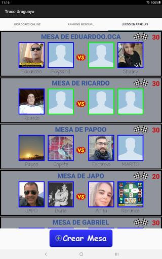 Truco Uruguayo apktram screenshots 14