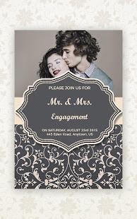 Invitation Card Maker - Design Wedding Card