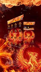 Mystery Fire Phenix HD Theme 1.1.10 Latest MOD Updated 1