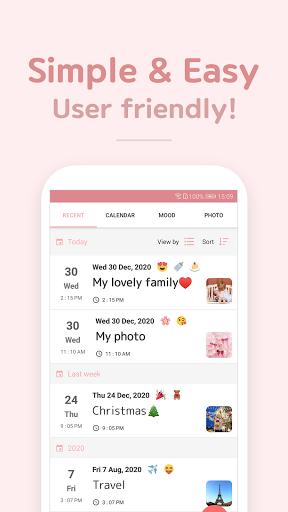 DailyLife - My Diary, Journal  Screenshots 4