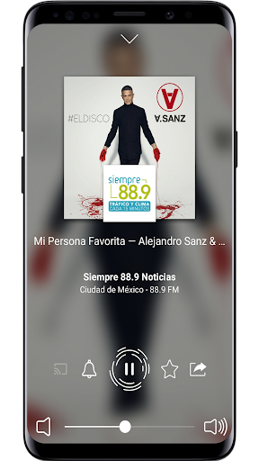 Radio Mexico: Online Radio, Internet Radio 2.3.63 screenshots 2
