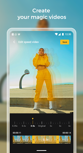 Slow motion - Speed up video - Speed motion 1.0.51 Screenshots 1