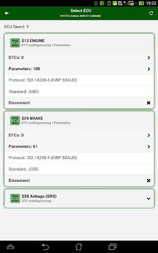 MotorData OBD Car Diagnostics. ELM OBD2 scanner 1.20.12.781 Screenshots 18