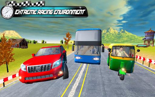 Prado vs Tuk Tuk Auto Rickshaw Racing  screenshots 12
