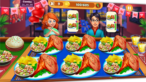 Cooking Crush: New Free Cooking Games Madness android2mod screenshots 5