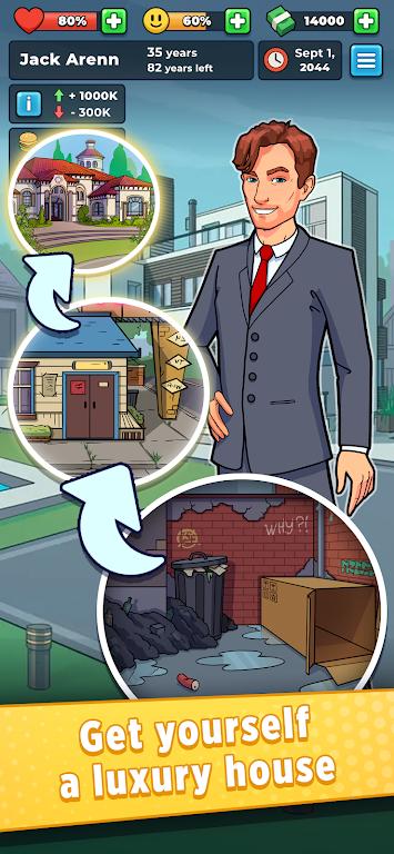 Hobo Life: Business Simulator & Money Clicker Game poster 3