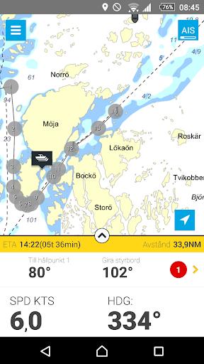Eniro På sjön - Gratis sjökort  screenshots 7