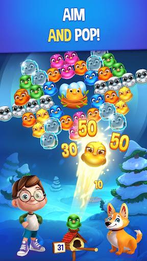 bubble birds v - color birds shooter screenshot 1