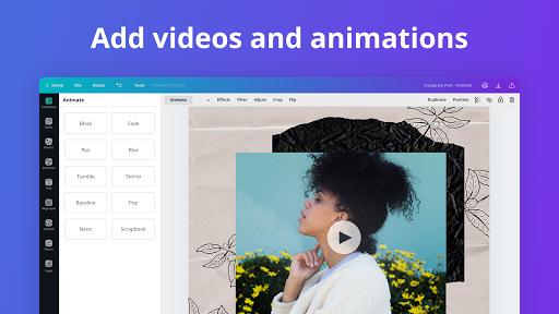 Canva: Graphic Design, Video Collage, Logo Maker poster