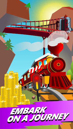 Train Merger - Idle Manager Tycoon apktram screenshots 6