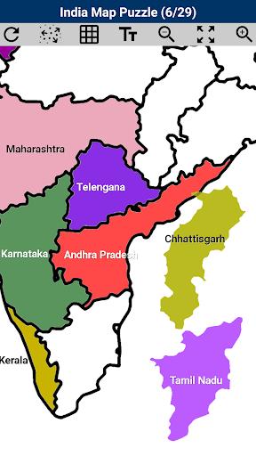 India Map Puzzle  Pc-softi 2