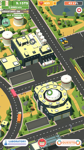 Idle Drink Factory Empire Tycoon - Manager Game Apkfinish screenshots 2